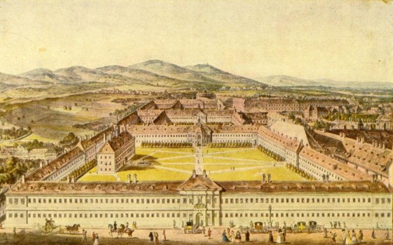 Иллюстрация. Общая больница Вены