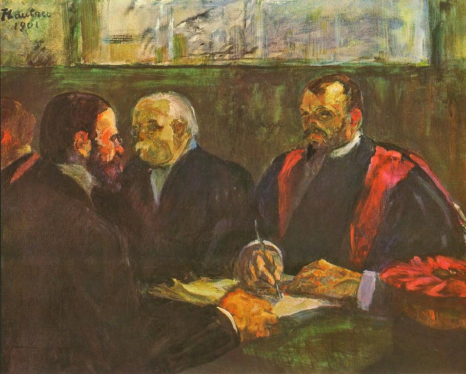 Иллюстрация. Рикор и Фурнье