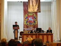 На открытии Съезда в Витебске