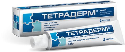 Тетрадерм. Крем для наружного применения
